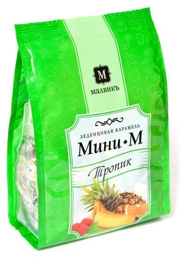 Конфеты леденцы мини-м тропик 150 г.  Мини-М