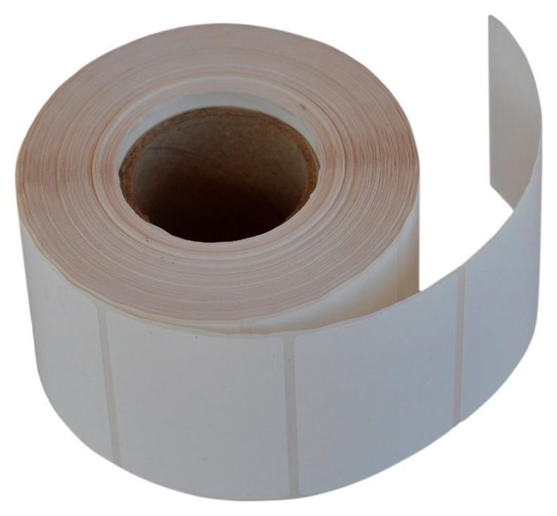 Термотрансферные этикетки полипропилен, 43х25мм, 1000этикеток в рул.  Sofmix