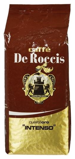 Кофе DE Roccis Intenso в зернах 1кг  De Roccis