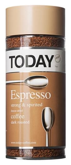 Кофе растворимый Today Espresso 95г  Today