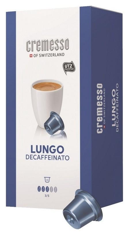 Кофе в капсулах Cremesso Decaffeinato 16 порций  Cremesso