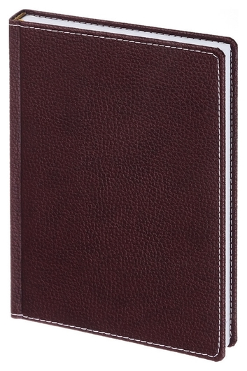 Ежедневник недатированный а5,142x210мм,176л,бордо аттасне Bizon  Attache