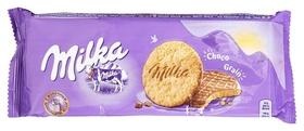 Печенье Milka с овс.хлоп., покр.мол.шок., 168г Milka