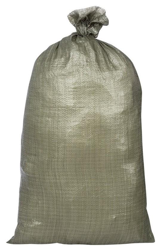 Мешок п/п строительный зеленый 95х55 (40 гр, 100шт/уп)  NNB