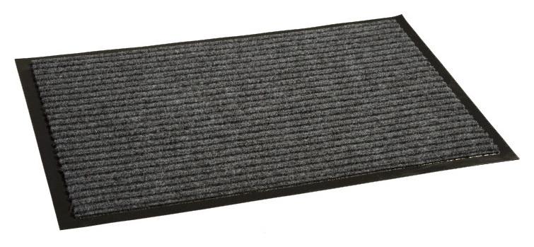 Ковер входной влаговпитывающий Luscan 400х600 мм серый  Luscan