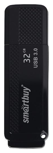 Флеш-память Smartbuy 32gb Dock Black3.0(Sb32gbdk-k3)  Smartbuy