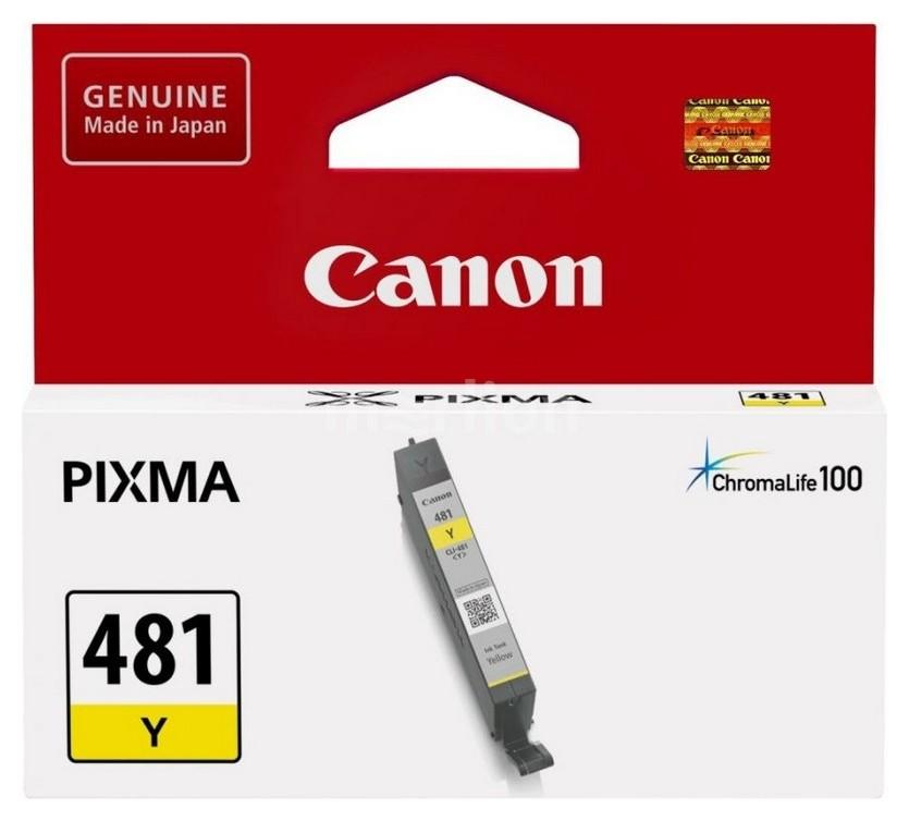 Картридж струйный Canon Cli-481 Y жел. для Ts6140/8140 2100c001  Canon