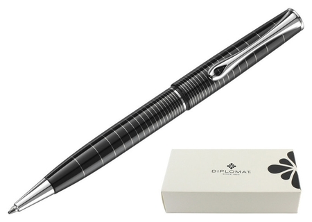 Ручка шариковая Diplomat Optimist Ring синий D20000211  Diplomat