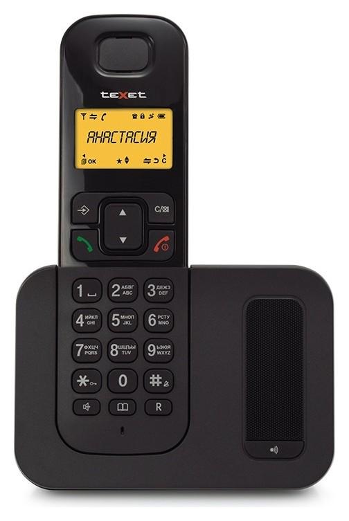 Радиотелефон Texet Tx-d6605a черный  teXet