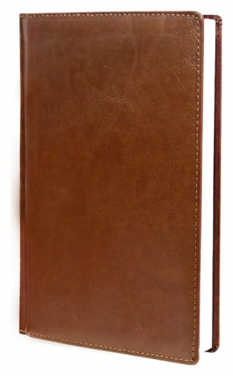 Ежедневник недатированный коричневый,а6,100x150, 320стр,agenda  Attache