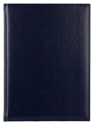 Ежедневник недатированный синий,а4,202х272мм,176л,аттасне каньон  Attache