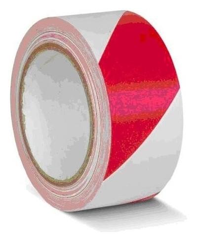 Лента для разметки ПВХ красно-белый 50мм*33м (Kmsy05033)  Mehlhose