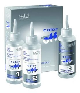 """Эмульсия для удаления краски с волос """"Color Off""""  Estel Professional"""