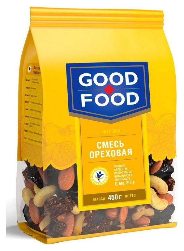 Коктейль смесь ореховая GF 450г  Good-food