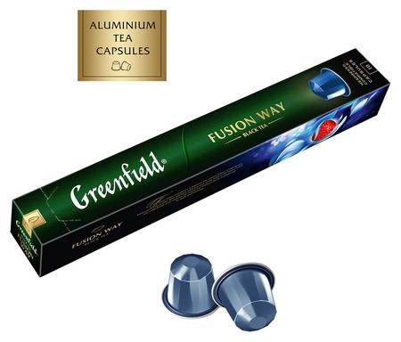 Чай в капсулах Greenfield фьюжн вэй, 10 кап  Greenfield
