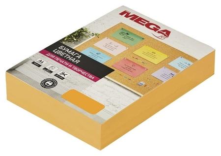 Бумага цветная Promega Jet (А4,75г,оранжевый неон) пачка 500л  ProMEGA