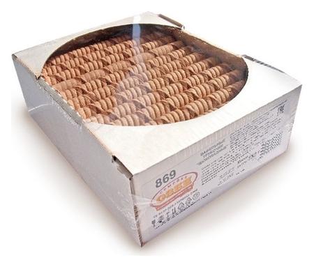 Вафли вафельные трубочки озби шоколадные, 650г  Семейка Озби