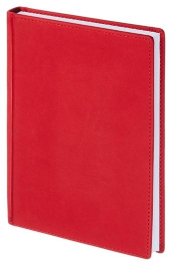Ежедневник недатированный а5+, 136л, Velvet красный 3-115/10 Альт