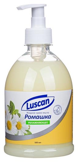 Крем-мыло жидкое Luscan ромашка 500мл с дозатором  Luscan