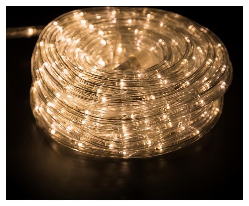Гирлянда светодиодная мерцание (3w), 24 Led/м, теплый белый, 6м 121-326-06  Neon-Night