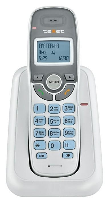 Радиотелефон Texet Tx-d6905a белый  teXet