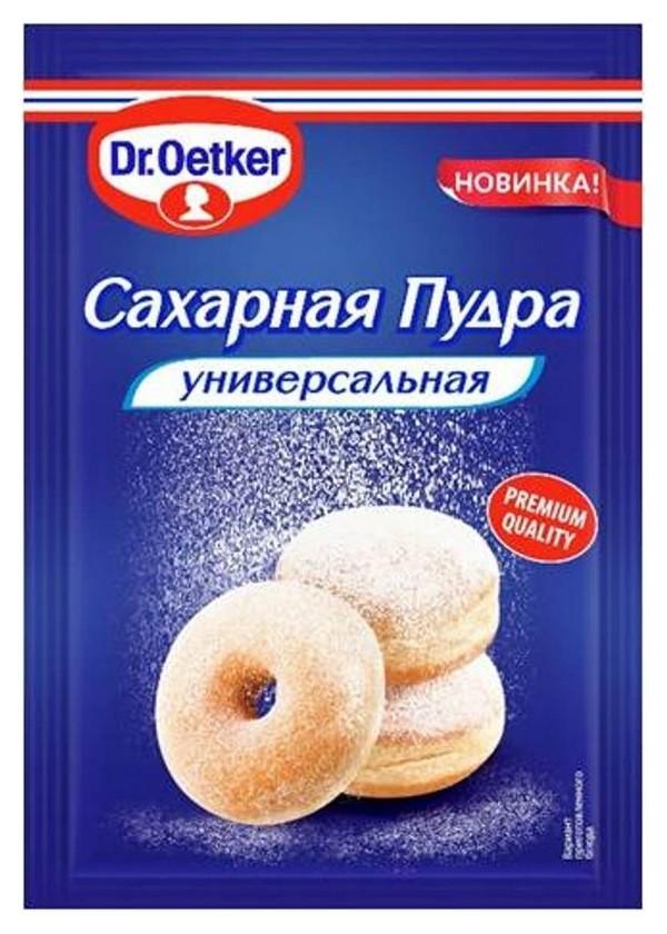 Приправа сахарная пудра Dr.oetker, 60 г  Dr. Oetker