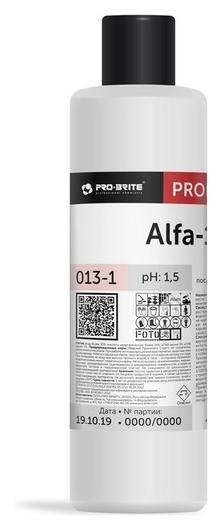 Профхим послестрой кисл для удал цемента,затирок,ржавч Pro-brite/alfa-19, 1л  Pro-brite