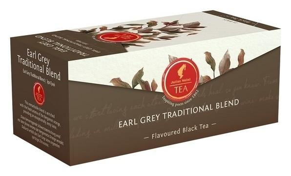 Чай Julius Meinl Эрл грей черный премиум пакетированный, 25пак/уп, 88583  Julius Meinl