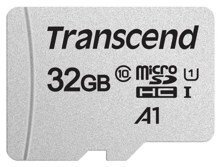 Карта памяти Transcend 300s Microsdhc 32gb Uhs-i Cl10, Ts32gusd300s  Transcend