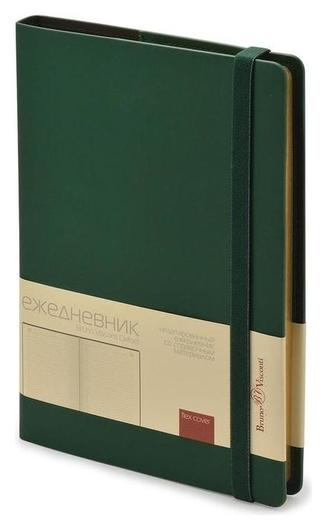 Ежедневник недатированный а5 162x238 мм Oxford зеленый 272 стр. 3-214/04  Bruno Visconti