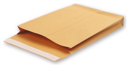 Пакеты в упаковке крафт С4 стрип Gusset 229х324х40 130г 200шт/уп  Bong