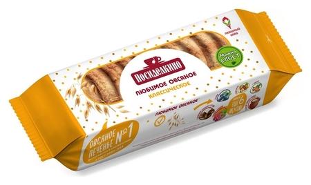Печенье овсяное посиделкино классическое 320г  Посиделкино