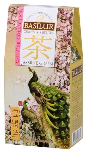 Чай Basilur китайский чай зеленый с жасмином, 100 г 71798  Basilur