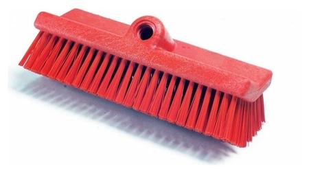 Щетка Haccper разноуровневая жесткая 254мм 4202 R красная  Haccper