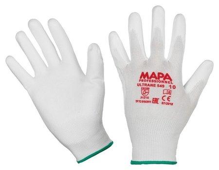 Перчатки защитные трикотажные Mapa Ultrane 549 нейлон C п/у пок (Р 10, XL)  Mapa