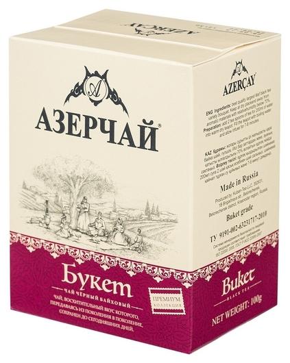Чай азерчай Premium Collection чай черный байх.листовой, 100 г 413633 Азерчай