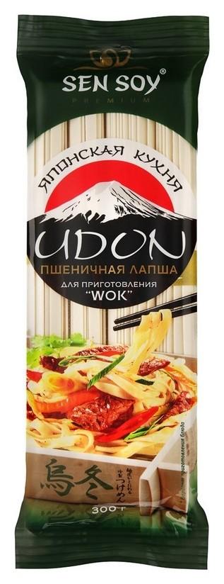 Лапша пшеничная (Udon) Сэн сой, 300г  Sen Soy