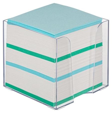 Блок для записей Attache Economy в стакане 9х9х9 цветной 65 гр 92  Attache