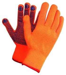 Перчатки защитные зимние акриловые с ПВХ покрытием  NNB