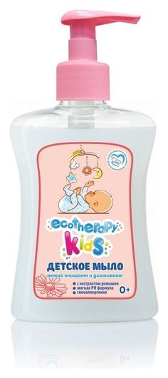 Крем-мыло детское 250мл экотерапия с экстрактом ромашки с дозатором  Ренессанс косметик