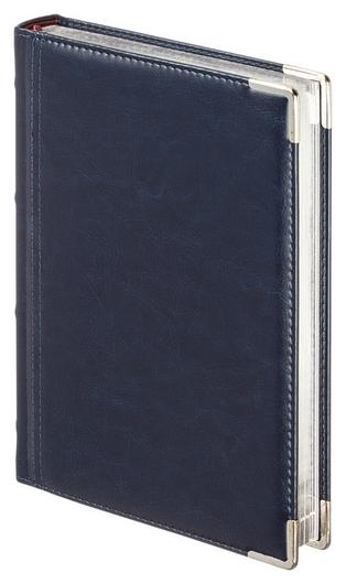 Ежедневник полудатированный а5+, 208л, Boss темно-синий 3-404/272  Bruno Visconti