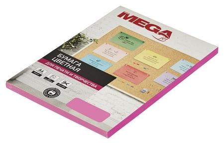 Бумага цветная Promega Jet (А4,75г,малиновый неон) пачка 100л  ProMEGA