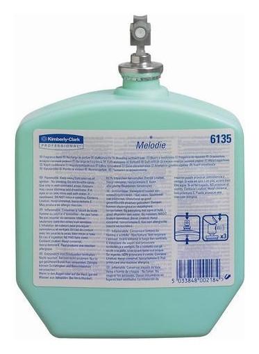 Баллон сменный для автоосвежителя КК Kimcare мелодия 310мл цвет и ванил6135  Kimberly-clark