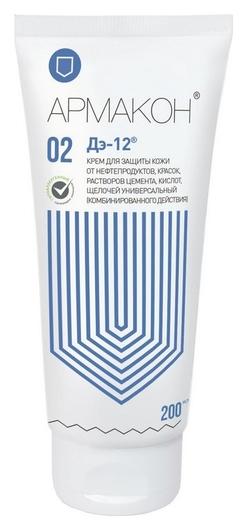 Крем защитный армакон д-12 универсальный 200мл 1200  Армакон