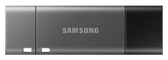 Флеш-память Samsung DUO Plus, 128gb, USB 3.1 G1, Type-c, сер, Muf-128db/apc  Samsung