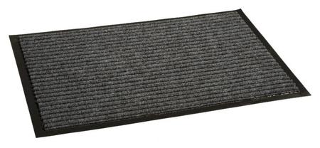 Ковер входной влаговпитывающий Luscan 900х1200 мм серый  Luscan