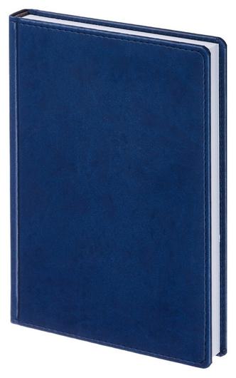 Ежедневник недатированный синий,а5,143х210мм,176л,attache сиам  Attache