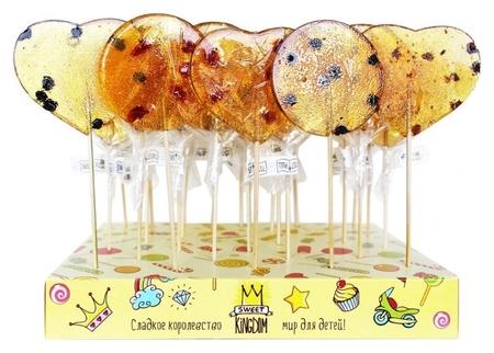 Карамель леденцовая на сахаре с ягодами 35гр, Sk04 Swetkingdom  Sweet Kingdom