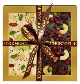 Подарочный набор праздник днем и ночью, 200 г  Chokodelika