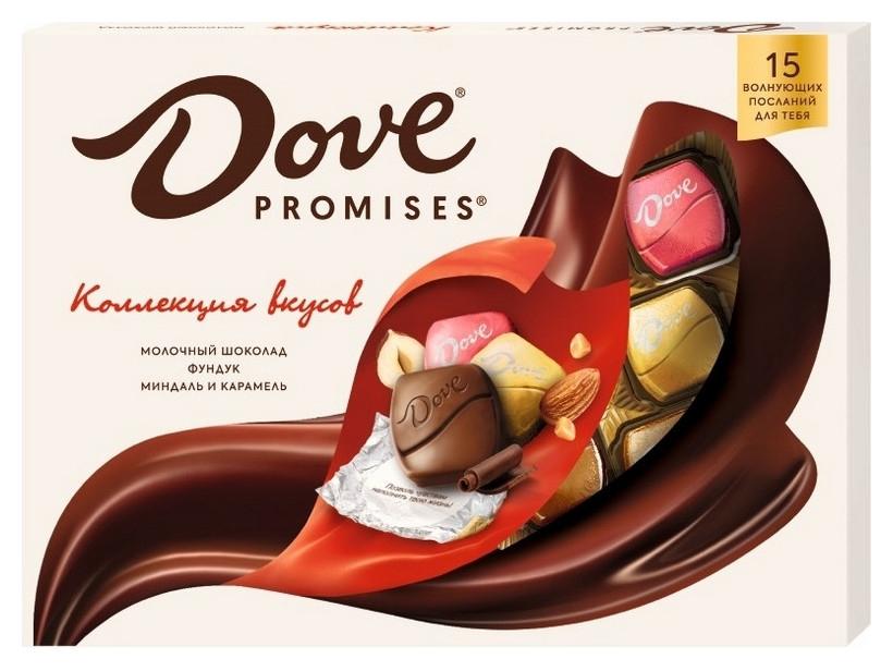 Шоколад Dove Promises молочный шоколад, 118г Dove